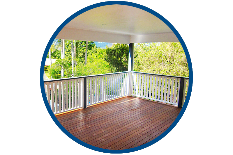 Image of our new decks in Brisbane